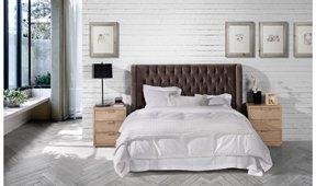 Dormitorio tapizado Punta del Este Nayara