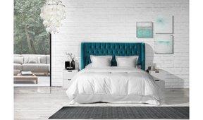 Dormitorio tapizado Punta del Este Carlton