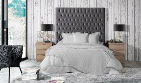 Dormitorio tapizado Miramar Nayara