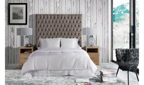 Dormitorio tapizado Miramar Domain
