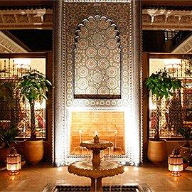 Muebles y decoración árabe