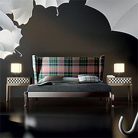 """Muebles y decoración con cuadros escoceses. """"El Tartán"""""""
