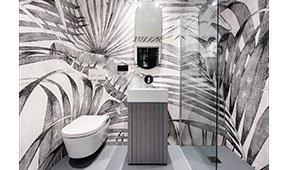 Mueble de baño vertical roble Portobello