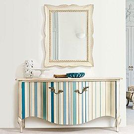 Muebles y decoración con rayas