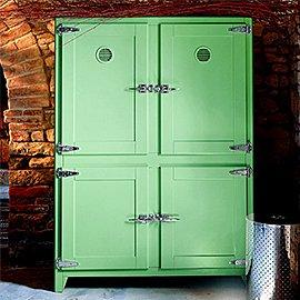 Muebles y decoración en verde