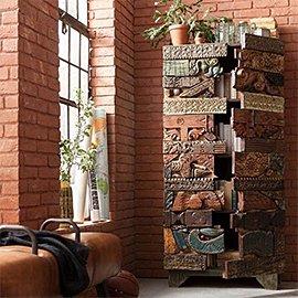 Muebles y decoración india