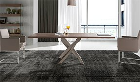 Mesa de comedor rectangular Moderna Xenon