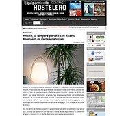 Andale, la lámpara portátil con altavoz Bluetooth
