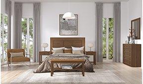 Dormitorio colonial Long Island