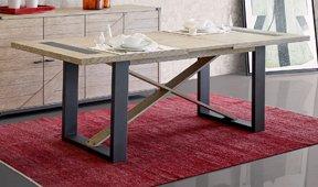 Mesa de comedor roble industrial Dyker