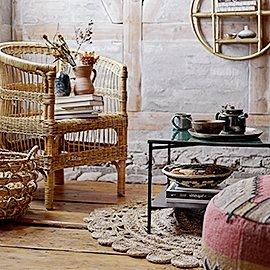 Selección de muebles y decoración en Yute
