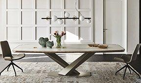 Mesa de comedor Stratos Keramik Premium Cattelan