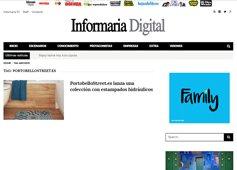 Portobello lanza una colección con estampados hidráulicos