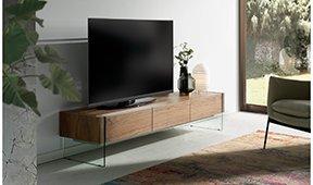 Mueble de TV moderno Nogal Munio