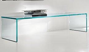 Mesa de centro cristal Capo horn Tonelli