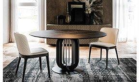 Mesa de comedor Soho Keramik Cattelan