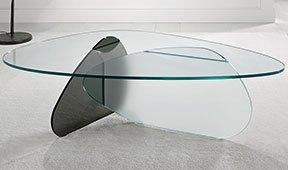 Mesa de centro cristal Kat Tonelli