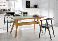 Mesa de comedor nórdica Abbie