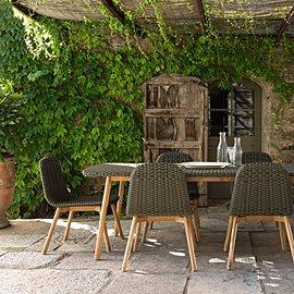 Mesas de comedor de jardín