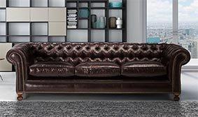 Sofá clásico chester Kensintong