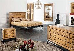Ambiente de Dormitorio Clasico Josefina