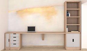 Mesa de escritorio moderna Basti