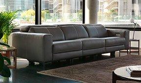 Sofá tapizado relax Denba
