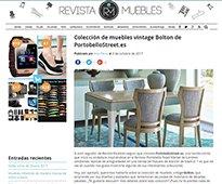 Colección de muebles vintage Bolton