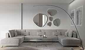 Sofa doble chaise longue Giorgio