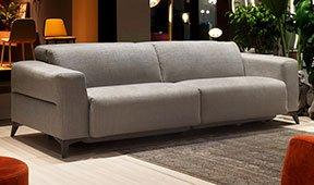 Sofá tapizado relax Geol