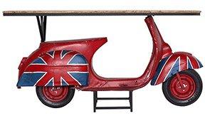 Consola Vespa British.
