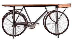 Consola Kalbe base bicicleta negra.
