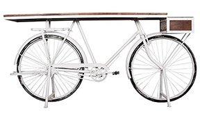 Consola kalbe base bicicleta blanca