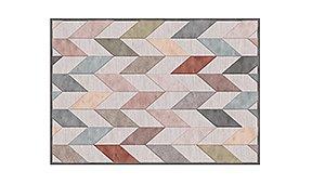 Alfombra geométrica Provence multicolor