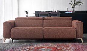 Sofá tapizado relax Doni