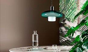 Lámpara de techo redonda Acquerelli Bonaldo
