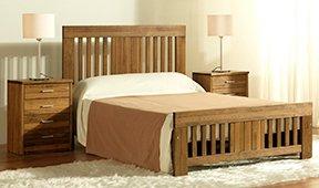 Cabecero y cama barras colonial Nova