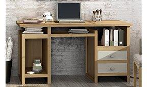 Mesa de escritorio nórdica New Age