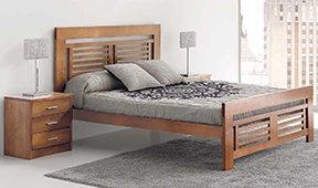 Cabecero y cama gala colonial Nova