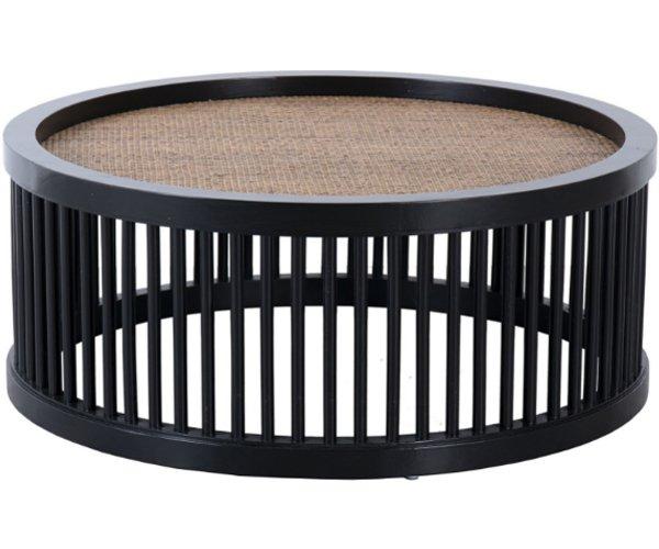 Mesa centro HOFN madera negro
