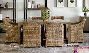 Mesa de comedor vintage Nikko