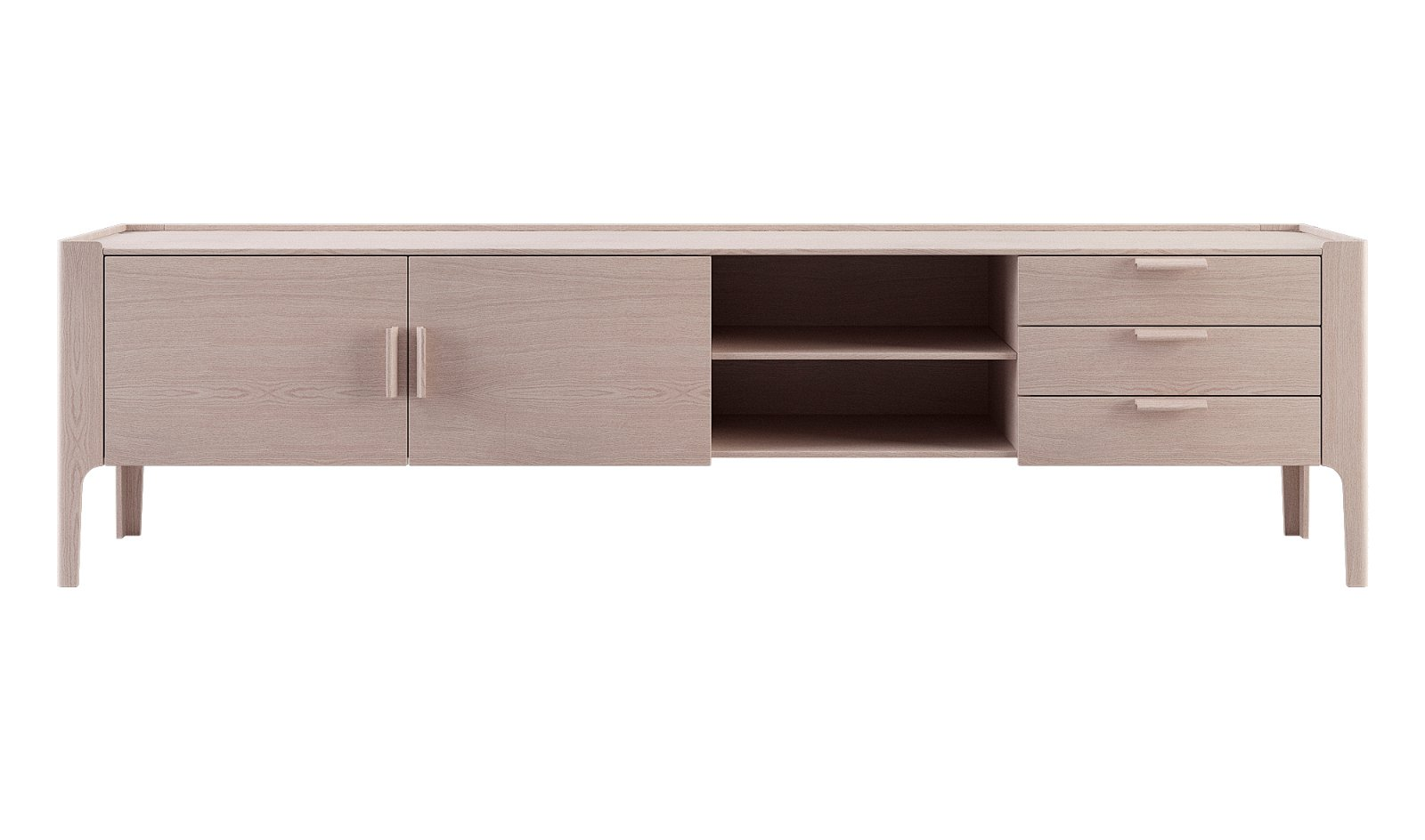 Mueble tv 2 puertas Arquitect Calgary by Bodonni