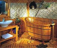 Bañera de madera Shanghai