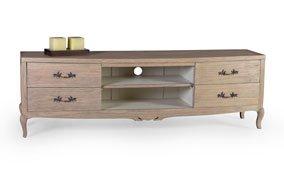 Mueble tv 4 cajones vintage Artisan