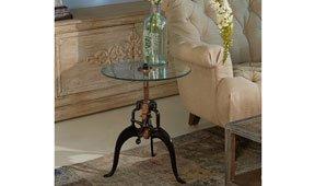 Mesa de rincón vintage Lousion