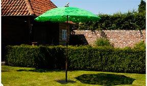 Parasol verde Hoja
