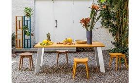 Mesa de comedor vintage Luyando