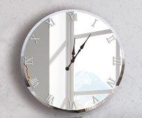 Reloj decorativo redondo Casual