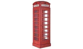 Vitrina grande cabina telefonica London