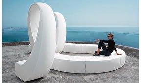Sofá escultura de jardín Rius